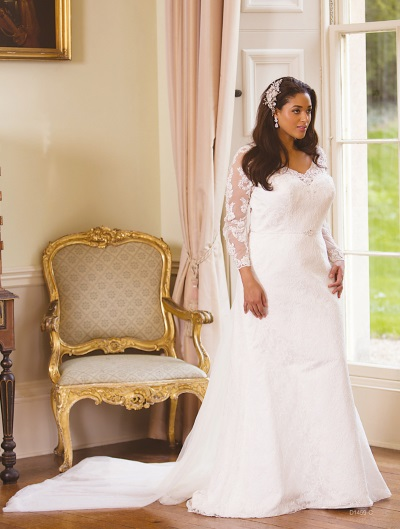 Sacha James Curvy Bridalwear in Carlisle from Simply Koko Bridal Boutique