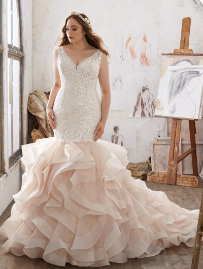 Julietta Curvy Couture Bridalwear in Carlisle from Simply Koko Bridal Boutique